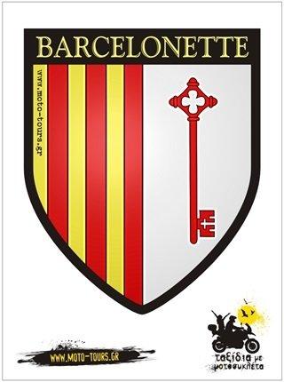 Αυτοκόλλητο Barcelonette (F ) ST-C42
