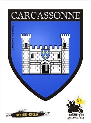 Αυτοκόλλητο Carcassone (F)
