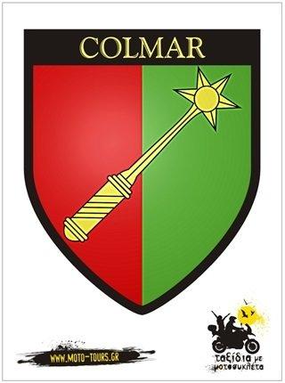 Αυτοκόλλητο Colmar (F) ST-C44
