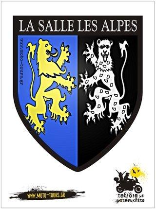 Αυτοκόλλητο  La Salles Les Alpes (F) ST-C45