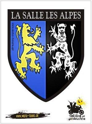 Αυτοκόλλητο  La Salles Les Alpes (F)