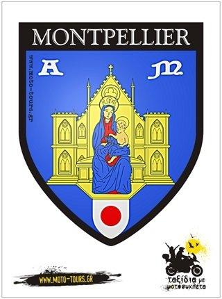Αυτοκόλλητο Montpellier (F) ST-C47