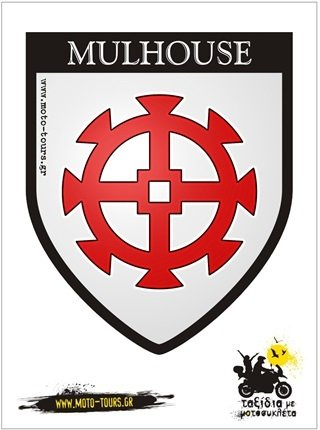 Αυτοκόλλητο Mulhouse (F)