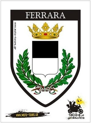 Αυτοκόλλητο Ferrara (I)