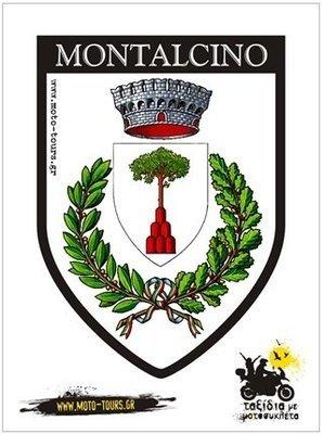 Αυτοκόλλητο Montalcino (I)
