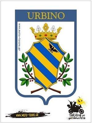 Αυτοκόλλητο Urbino (I)
