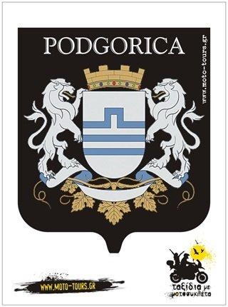 Αυτοκόλλητο Podgorica (MNE) ST-C76
