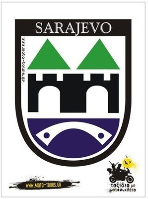Αυτοκόλλητο Sarajevo (BIH)