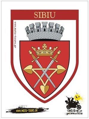Αυτοκόλλητο Sibiu ( RO )