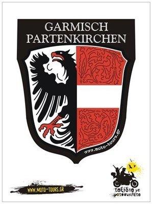 Αυτοκόλλητο Garmisch Partenkirchen (D)