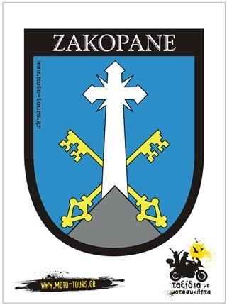 Αυτοκόλλητο Zakopane ( PL ) ST-C19