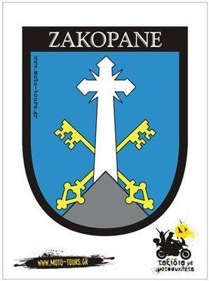 Αυτοκόλλητο Zakopane ( PL )