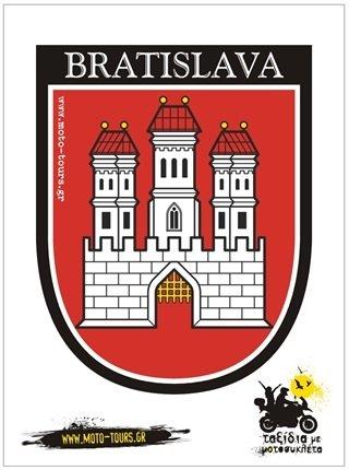 Αυτοκόλλητο Bratislava ( SK ) ST-C23