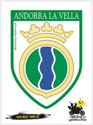 Αυτοκόλλητο Andorra La Vella (AND ) ST-C34