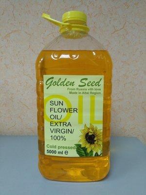 Подсолнечное масло 5 литров (Высший сорт ГОСТ)