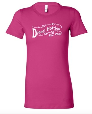 DH Ideal Crew Neck Tee Pink