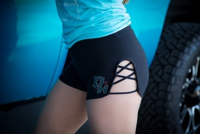DH Side Shorts (Black)