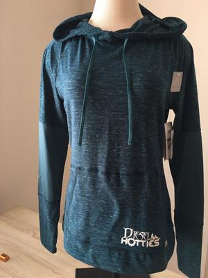 Dry Wick Long Sleeve Hoodie (Green)