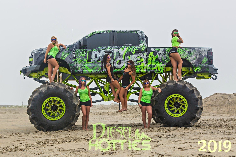 2019 Diesel Hotties Calendar (Buy1 Get 1 Free)