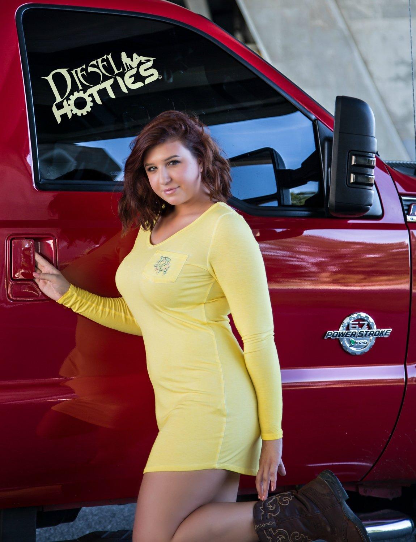 Yellow Long Sleeve Mini Dress