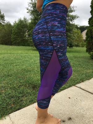 DH Bally Purple & Blue