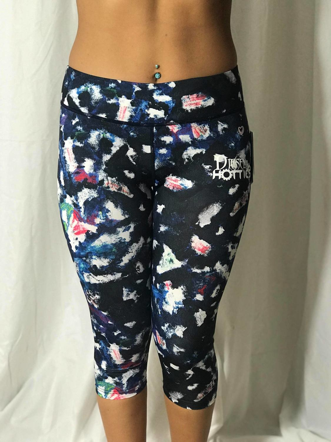 DH Multi Capri Leggings