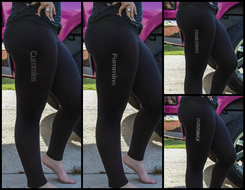 Leggings (Select your Rhinestone Logo)
