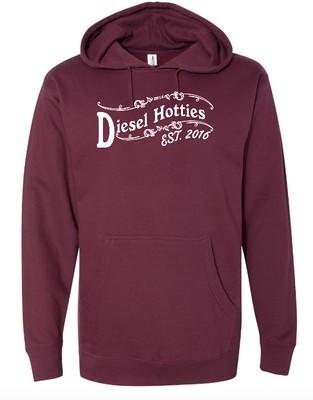 Hooded sweatshirt (Light Blackberry)