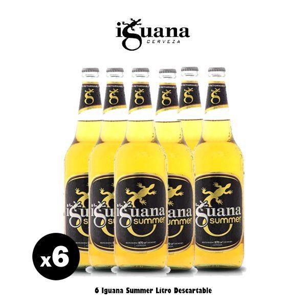 Iguana Summer x 6