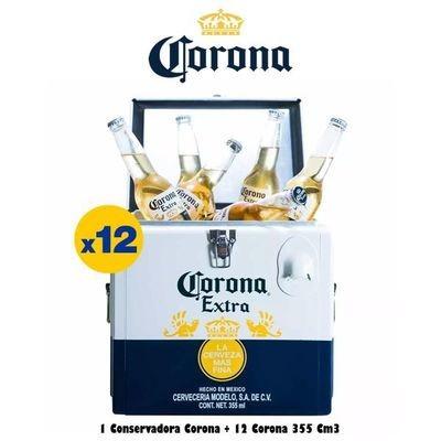 Cooler + 12 Corona 355
