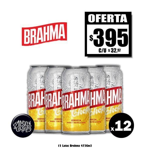 Oferta Brahma Lata 473 x12