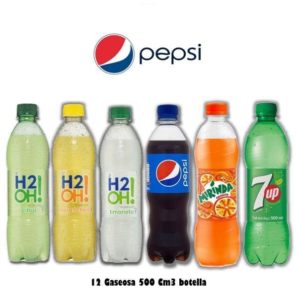 Gaseosa botellas 500Cm3 x12