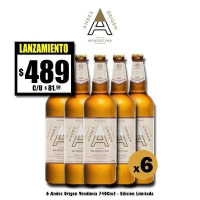 Andes Origen Edición Vendimia 740Cm3 x 6