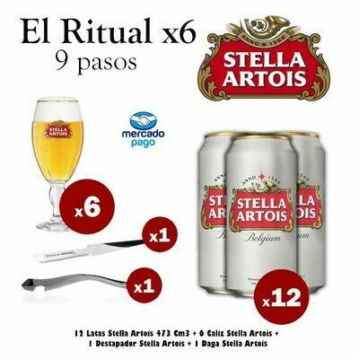 El Ritual Stella x6