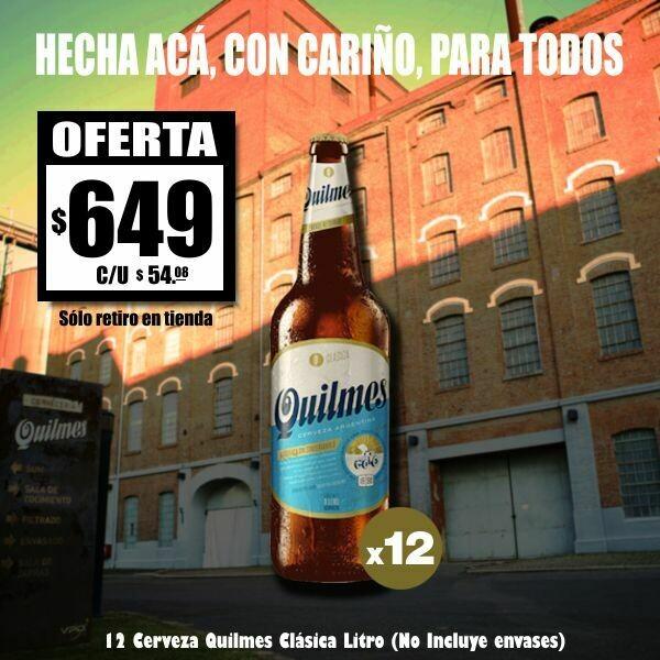 Quilmes Litro x12