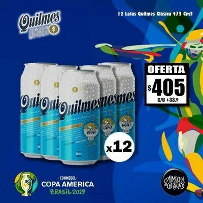 Copa América - Quilmes Clásica Lata 473Cm3 x12