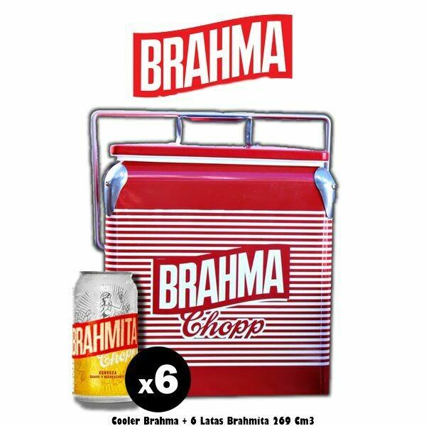 Cooler + 6 Brahmitas