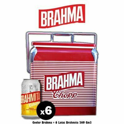 Cooler + 6 Brahma Lime