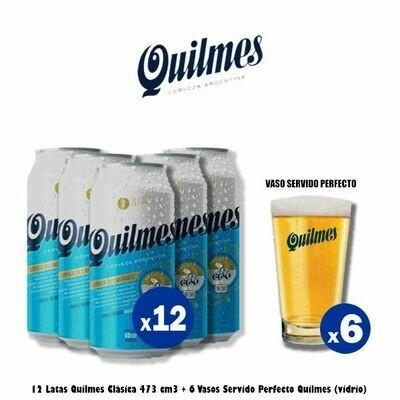 Quilmes Servido Perfecto x12