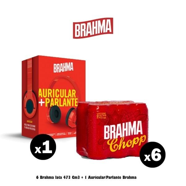 Auriculares + 6 Brahma Lata
