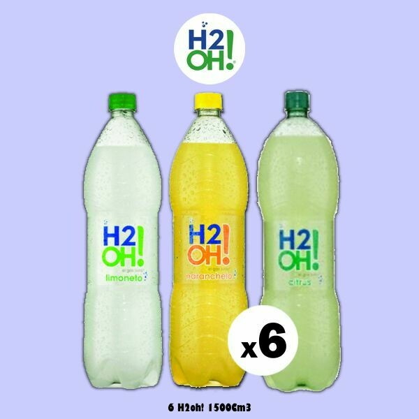 H2oh! 1500Cm3 x6