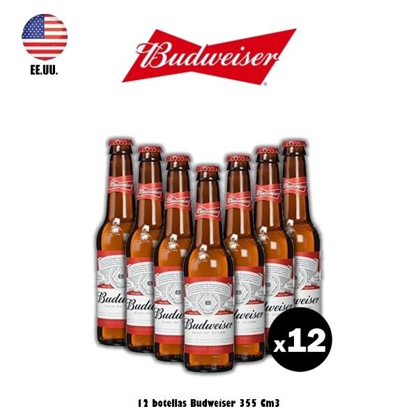 Bud Porrón 355 x12 - EEUU