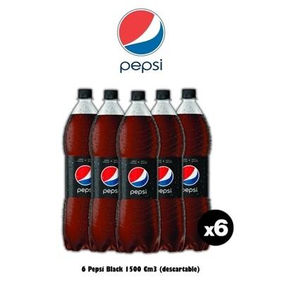 Pepsi Black 1500 x6