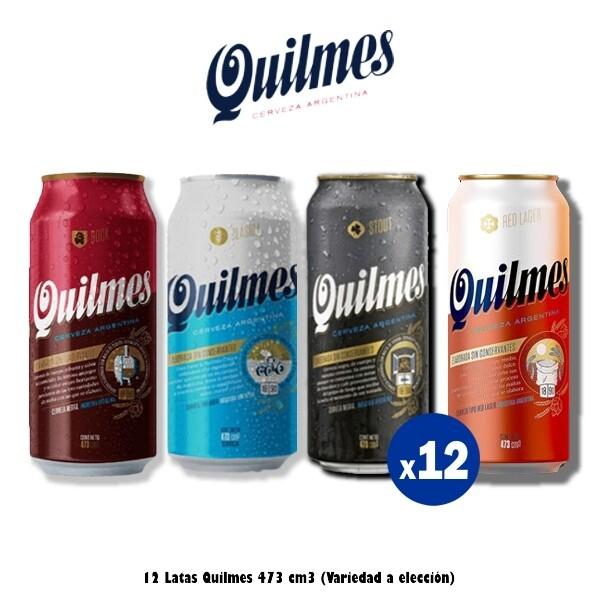 Lata Quilmes 473 Cm3 x12