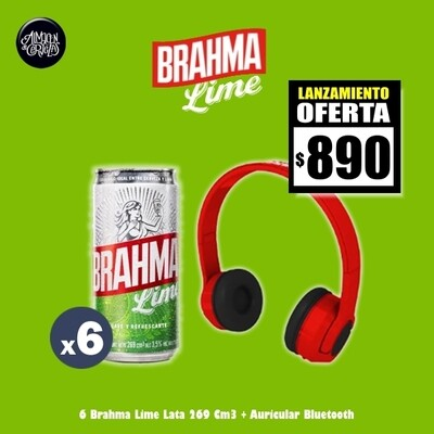 LANZAMIENTO - 6 Brahma Lime 269Cm3 + Auricular