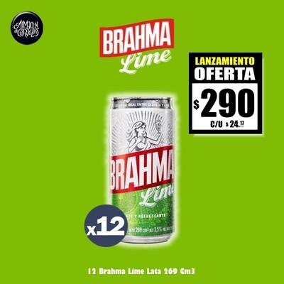 LANZAMIENTO- Brahma Lime Lata 269Cm3 x12
