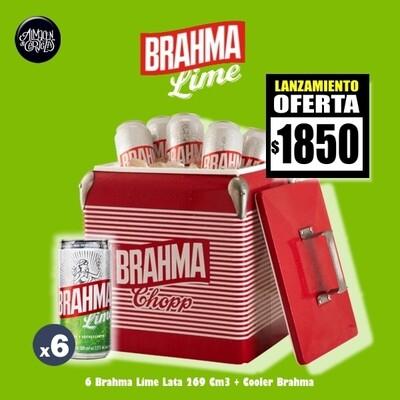 LANZAMIENTO- 6 Brahma Lime 269 Cm3 + Cooler