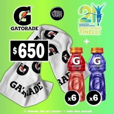 OFERTA - Toalla + 12 Gatorade 300Ml