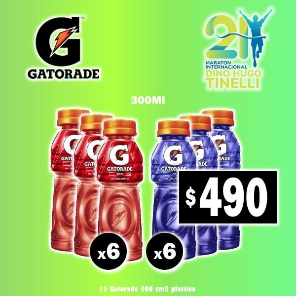 OFERTA - 12 Gatorade 300Ml