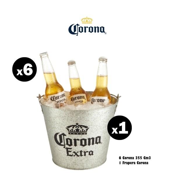 Frapera Corona + 6 Corona 330Cme